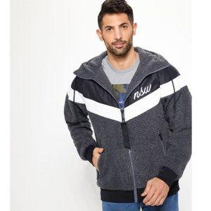 Nike Windrunner XL Jacket Sherpa Hooded Full Zip